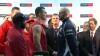 Boxerul Tyson Fury s-a dat în spectacol la conferinţă de presă dinaintea partidei cu Kliciko