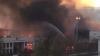 Un incendiu puternic a distrus un depozit de mobilă din SUA