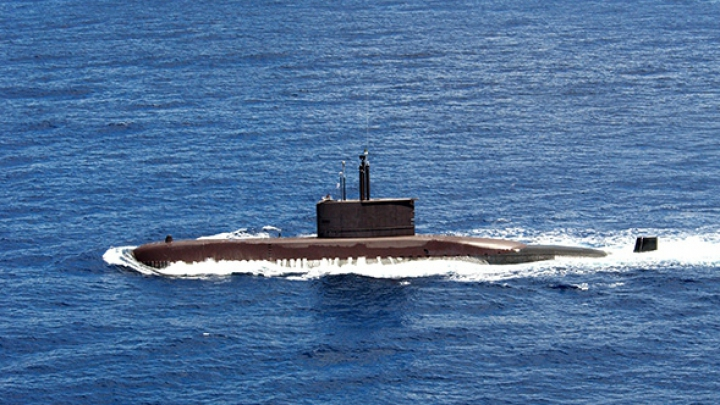 Un submarin cu peste șase tone de droguri la bord, capturat în Pacific