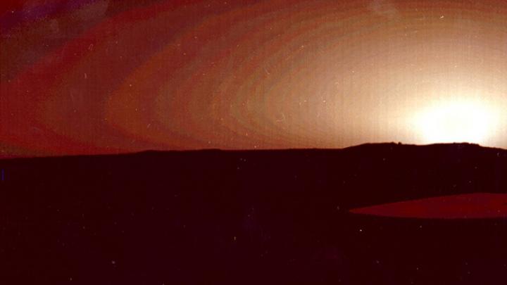 Vântul a uscat lacurile de pe planeta Marte (FOTO)