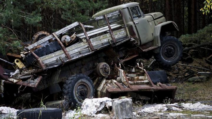 DESCOPERIRE ULUITOARE! Ce se întâmplă cu maşinile abandonate după catastrofa de la Cernobîl
