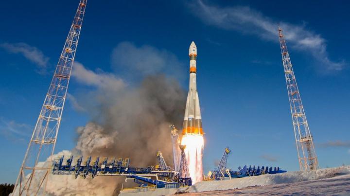 Racheta Soyuz-2.1a a fost lansată cu succes de pe noul cosmodrom rus Vostochny