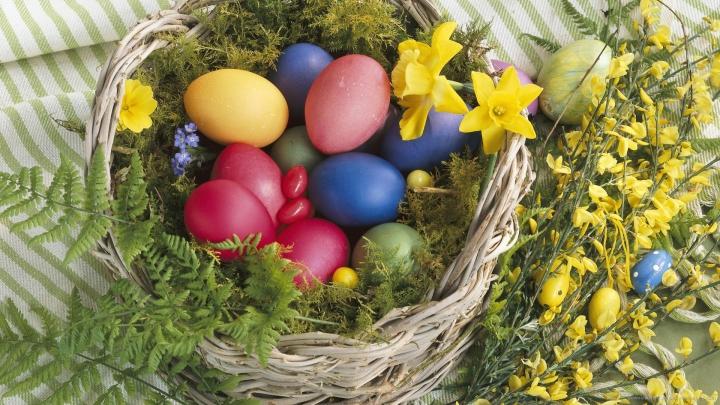 TRUCURI UTILE! Vopsește ouăle folosind ingrediente naturale