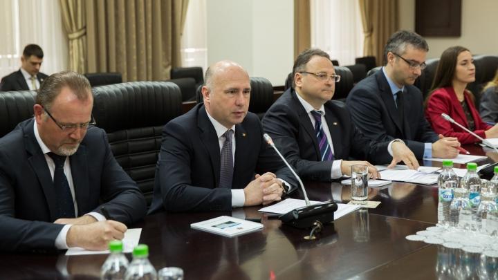 Germania susţine integrarea Republicii Moldova în UE. Pavel Filip s-a întâlnit cu Hans-Joachim Fuchtel