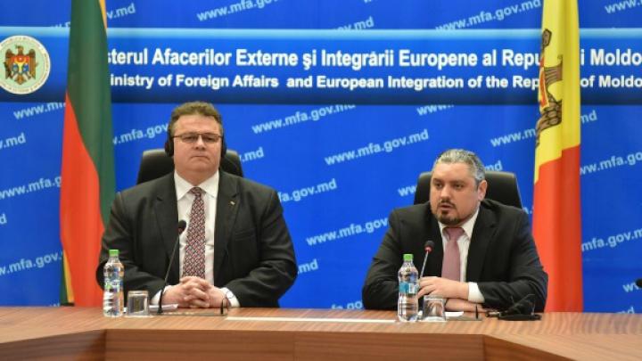Ministrul de Externe al Lituaniei: Reformele sunt PRIORITARE pentru Moldova