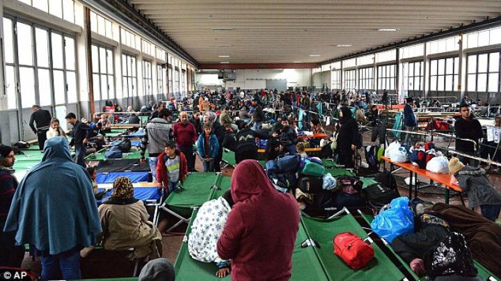 INCENDIU la un centru de imigranţi din Germania. Focul pare să fi fost declanşat intenționat