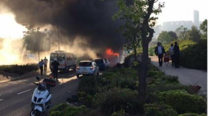 INFERN în Israel. Cel puțin 15 persoane au fost rănite în urma unei explozii (FOTO)