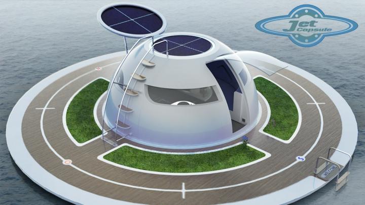 CASELE VIITORULUI! Acest OZN plutitor ar putea fi conceptul de locuinţă