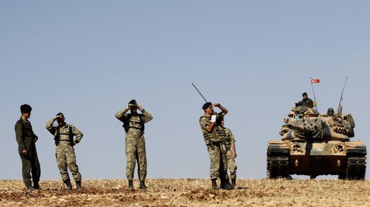 SUA și Turcia discută despre mijloacele de a împinge Statul Islamic mai spre est în Siria