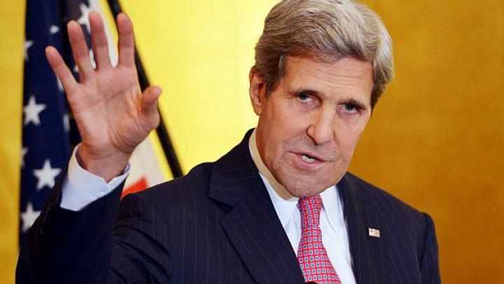 John Kerry condamnă atacul simulat asupra navei americane din Marea Baltică