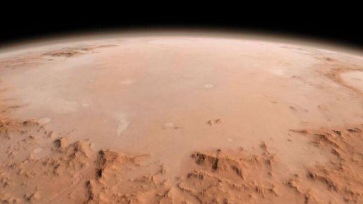 """DESCOPERIRE: Zona de pe Marte, unde ar fi putut exista viață. Ce a dus la """"moartea"""" planetei roșii"""