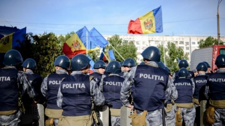"""""""Nu putem fi sfidați""""! Recția polițiștilor după protestul violent de duminică"""