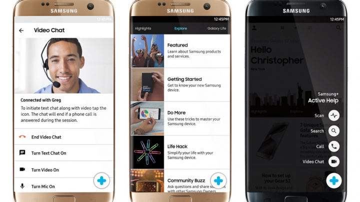 Samsung poate să-ți intre pe telefon de la distanță. Doar pentru a te ajuta