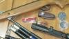 O armă pneumatică, cuțite şi o lunetă, descoperite într-o maşină cu numere transnistrene. Ce a declarat proprietarul