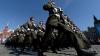 FORFOTĂ MARE la Moscova. Armata rusă a făcut cea de-a doua repetiţie pentru parada de 9 mai