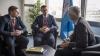 Șeful IGP, Alexandru Pînzari s-a întâlnit cu secretarul general al INTERPOL