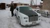 FENOMENAL! Ruşii au dat viaţă nouă unui Mercedes vechi: L-au transformat în Rolls Royce (GALERIE FOTO)