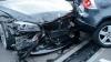 DUBLU ACCIDENT RUTIER: Şapte persoane au fost rănite. Poliţia a tras focuri de armă