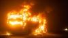 ACCIDENT CUMPLIT! Două femei au murit, dup ce un autobuz cu pelerini a luat foc
