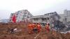 Morţi, răniţi și dispăruţi în urma unei alunecări de teren în China