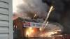 Explozie la o fabrică de artificii din Marea Britanie. Zeci de pompieri s-au luptat cu flăcările (VIDEO)
