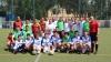 Polițiștii au jucat fotbal cu mai mulți copii din familii nevoiaşe. Căpitanul echipei, Alexandru Jizdan