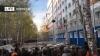 Tradiție INEDITĂ la universitatea din Tomsk. Ce au făcut studenții cu 500 de televizoare vechi (VIDEO)