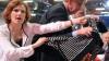 (VIDEO) Un activist de stânga aruncă un tort în față liderei grupului parlamentar al partidului Die Linke