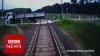 MAŞINISTUL-EROU. Iată cum a salvat pasagerii de un accident INEVITABIL (VIDEO)