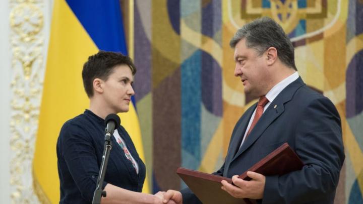 """Nadia Savcenko, gata să devină preşedinte al Ucrainei: """"Dacă este nevoie, voi face orice pentru a fi"""""""