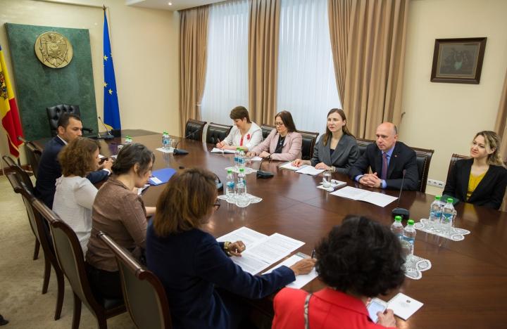 Pavel Filip şi Secretarul General al OIF s-au întâlnit la Chişinău. Despre ce au discutat oficialii