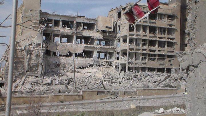 NO COMMENT! Momentul când spitalul din Alep este bombardat de forţele siriene (VIDEO 18+)