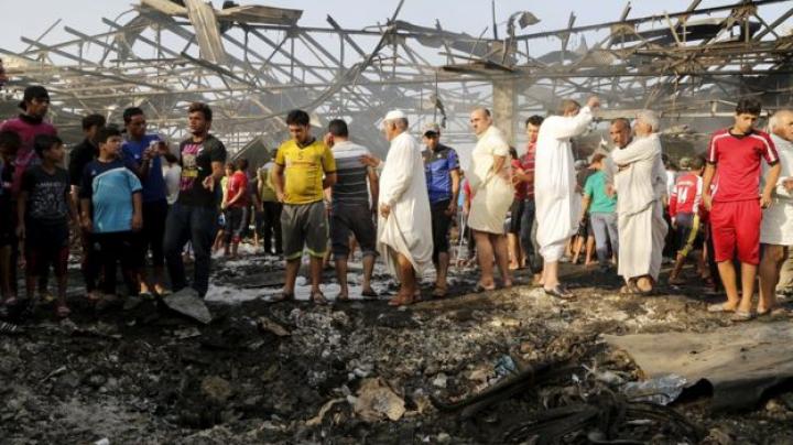 Teroare în capitala Irakului: Zeci de morți și răniți, în urma unei serii de atacuri sinucigașe