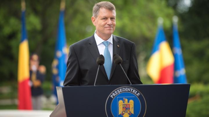 Klaus Iohannis: România va susţine ferm drumul european al Republicii Moldova