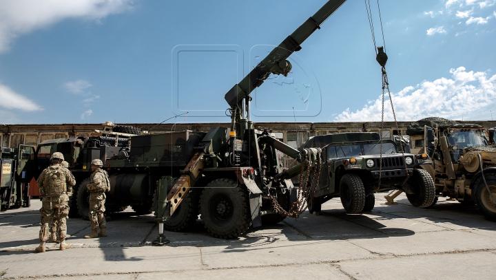 Aplicaţii militare moldo-americane de amploare! Geniştii vor detecta şi neutraliza obiecte periculoase