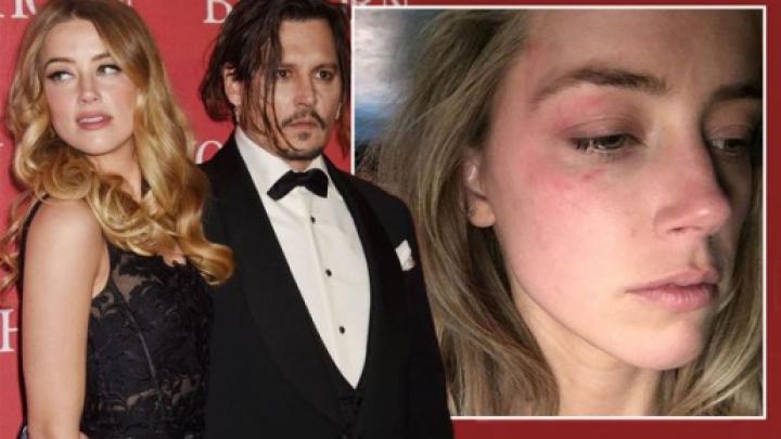 Actriţa Amber Heard îl acuză pe Johnny Depp de violenţă domestică de-a lungul căsătoriei