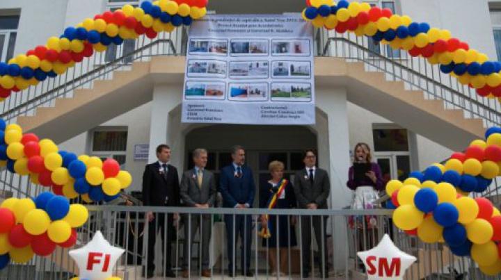 Încă o grădiniță din Moldova a fost renovată cu sprijinul Guvernului din România