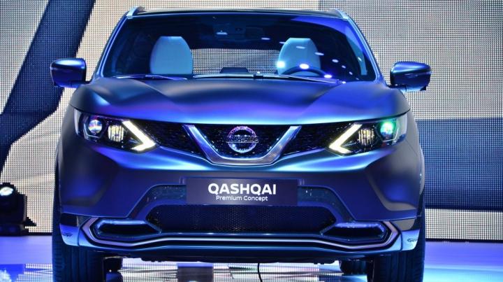 Nissan Qashqai Premium Concept va intra în producţie de serie ca rival al lui Audi Q3 şi BMW X1
