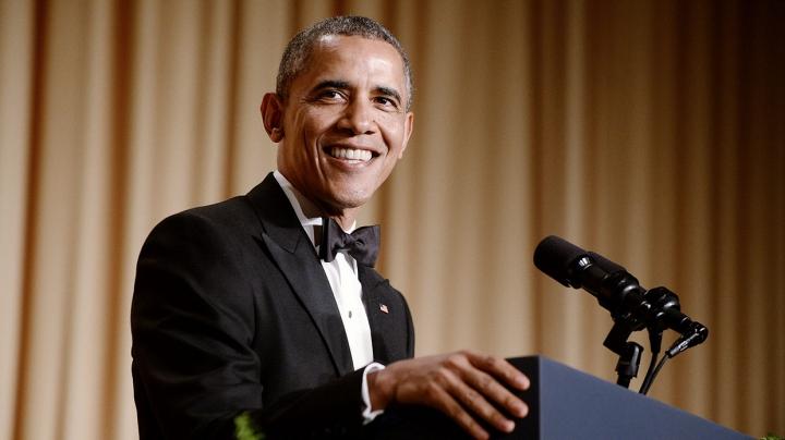 Președintele SUA, pus pe glume. Obama l-a ironizat pe Trump la ultimul său dineu cu jurnaliștii