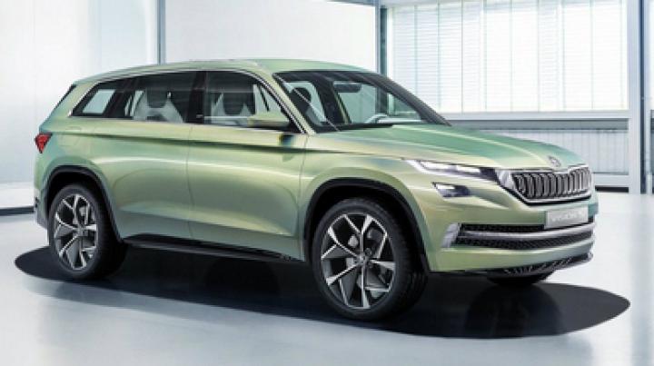 Skoda Kodiaq este numele oficial al viitorului SUV