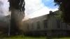 INCENDIU GRAV la Soroca. Arde Colegiul Tehnic Agricol (FOTO)