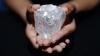 Licitaţie eşuată! Cel mai mare diamant neprelucrat din lume, de 1.109 carate, nu și-a găsit stăpân
