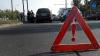 ACCIDENT SPECTACULOS la Buiucani. Şoferul, FĂRĂ PERMIS, fugea de poliţie