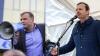 """SCANDAL la o întâlnire electorală a liderului Partidului """"DA"""". Andrei Năstase a ultragiat un poliţist"""