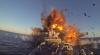 Teste militare. Armata norvegiană și-a aruncat în aer propria navă (VIDEO)