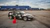 Campionatul Naţional de Autoslalom: Cei mai buni piloți de curse au turat la maxim motoarele (VIDEO)