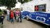 Zeci de copii din satul Ciocâlteni au beneficiat de consultaţii gratuite oferite de medici pediatri