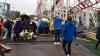 Scoţia: Accident într-un parc de distracţii. Un rollercoaster s-a prăbușit de la zece metri înălțime