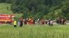 PRIMELE IMAGINI de la accidentul din Braşov (VIDEO)