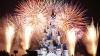 Spectacol cu focuri de artificii de o frumusețe rară la Disneyland